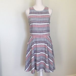 NWT-JustFab Sleeveless/Flared Skirt Summer Dress